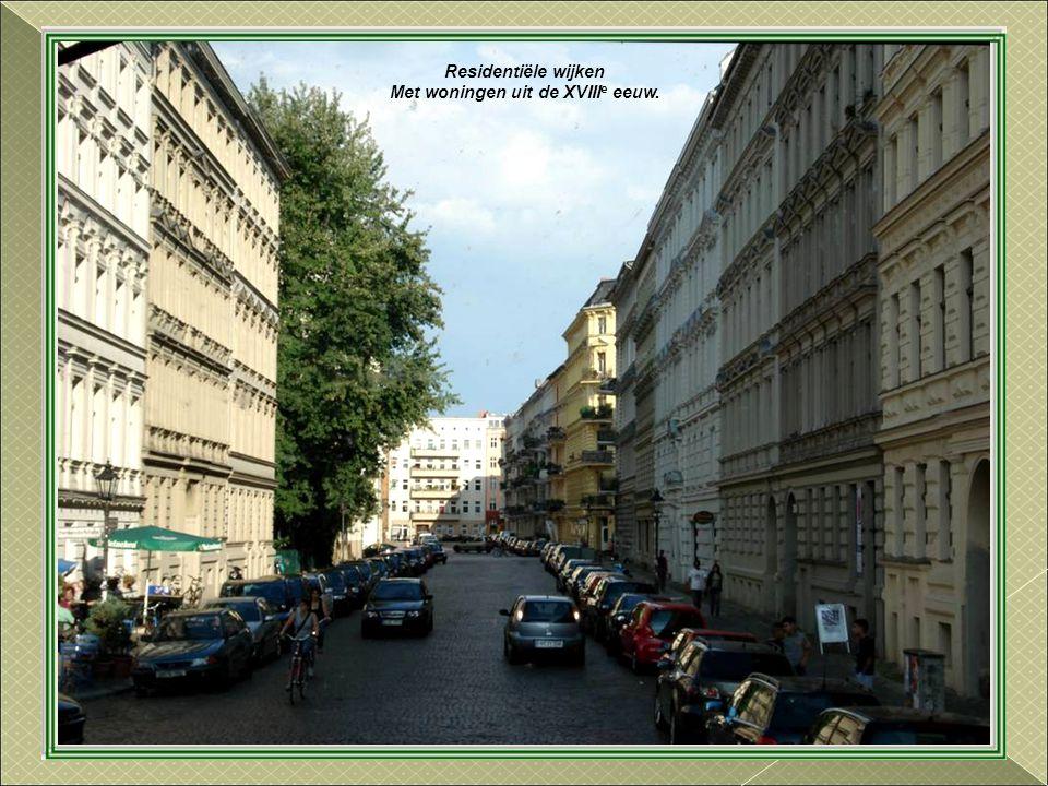 Met woningen uit de XVIIIe eeuw.