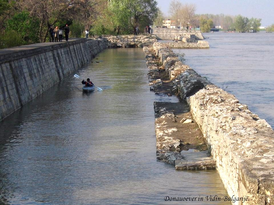 Donauoever in Vidin-Bulgarijë.