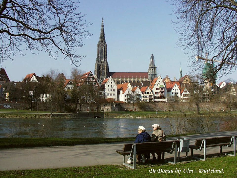 De Donau bij Ulm – Duitsland.