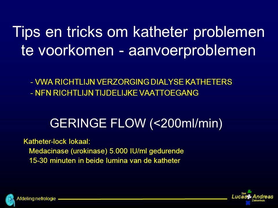 GERINGE FLOW (<200ml/min)