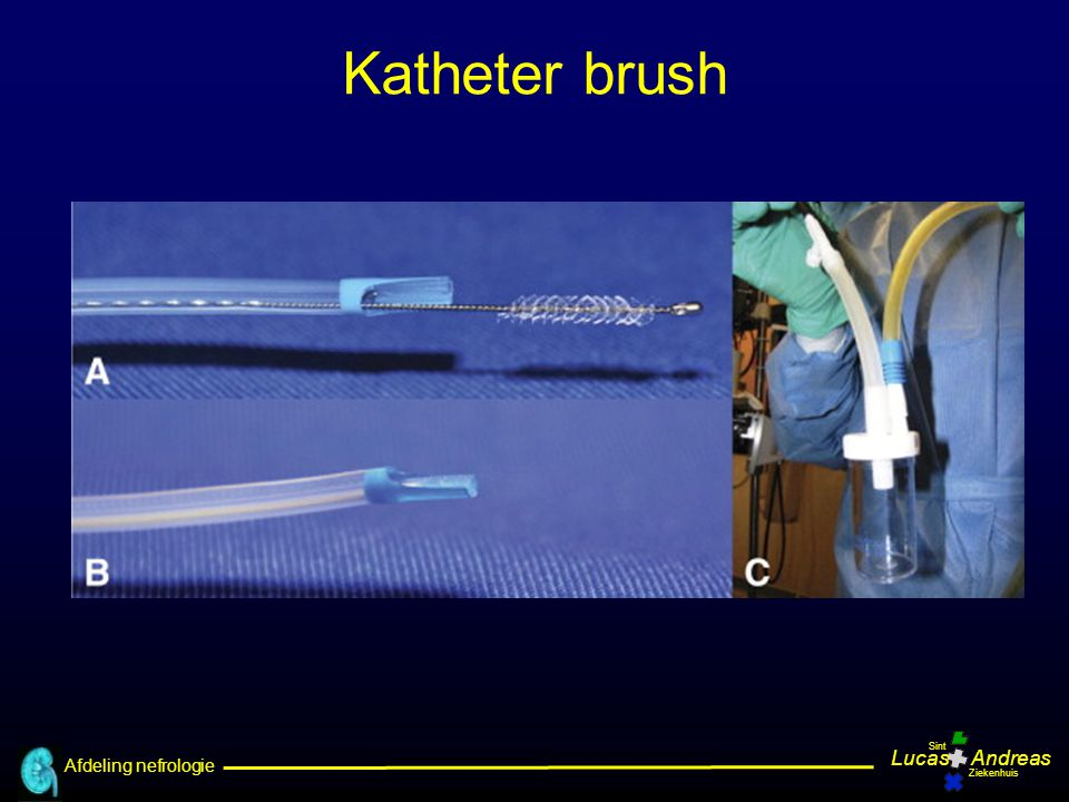 Katheter brush