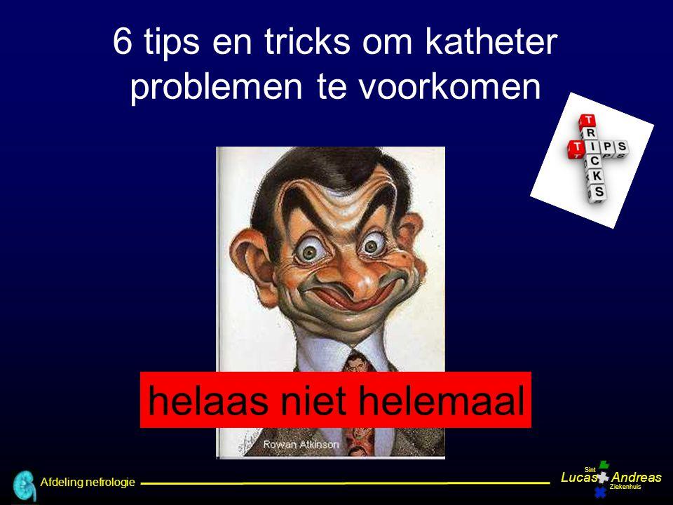 6 tips en tricks om katheter problemen te voorkomen