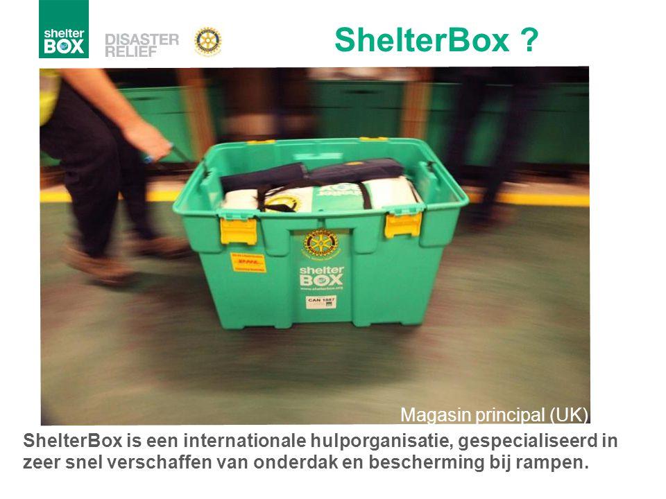ShelterBox Magasin principal (UK)