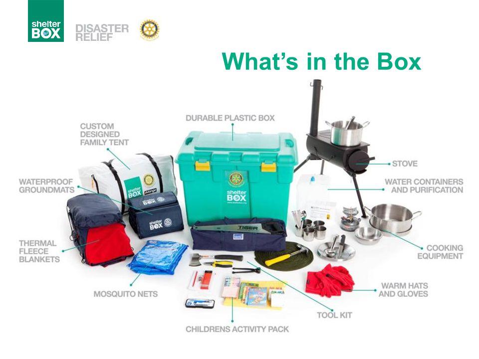 What's in the Box Schoolkit: men vergeet soms het impact van een ramp op een kind