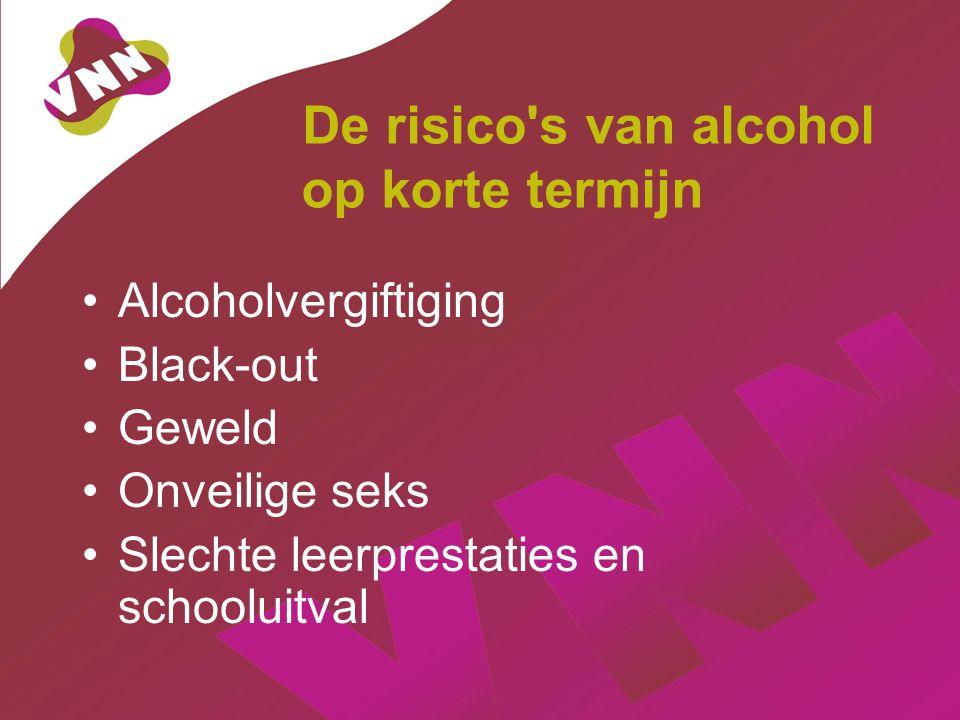 De risico s van alcohol op korte termijn