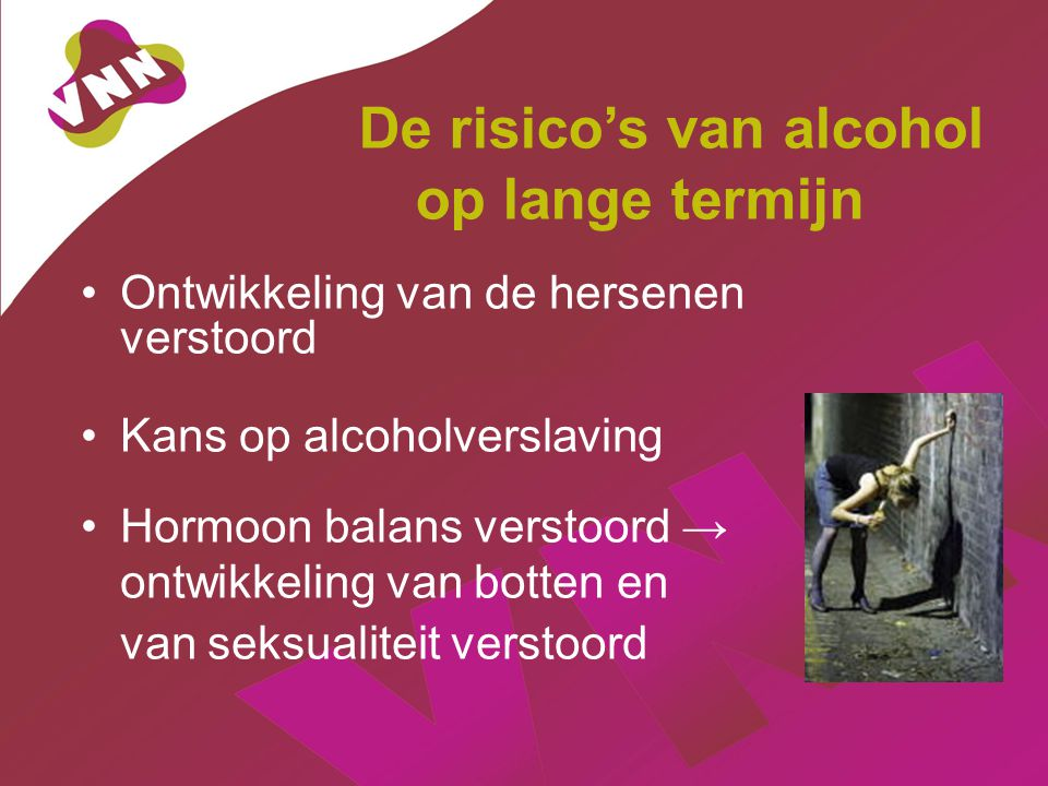 De risico's van alcohol