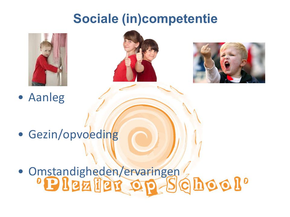 Sociale (in)competentie