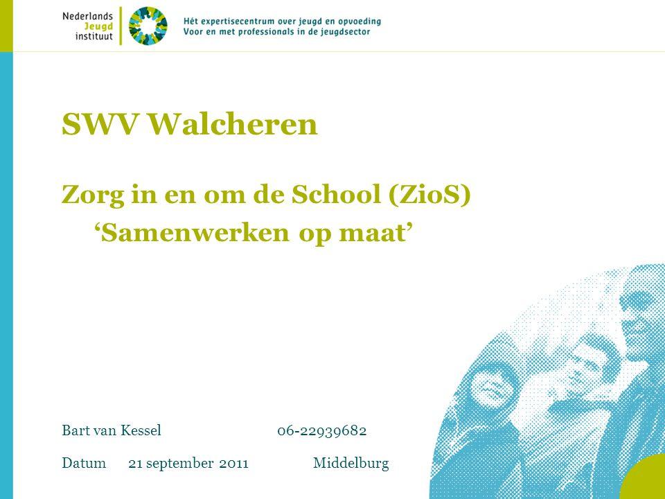 SWV Walcheren Zorg in en om de School (ZioS) 'Samenwerken op maat'
