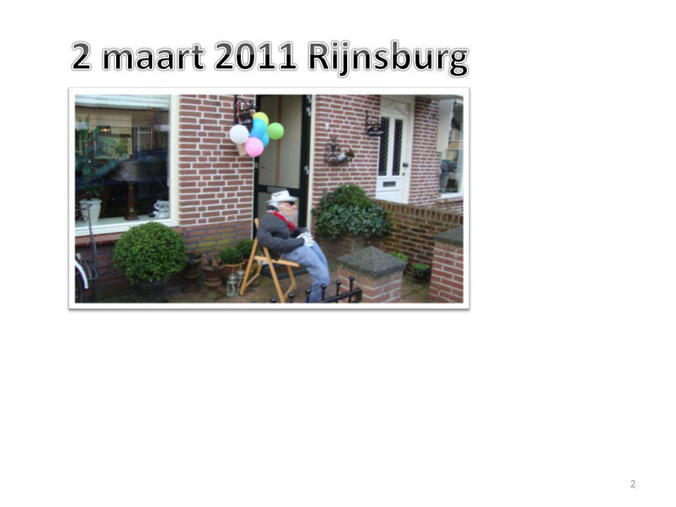 2 maart 2011 Rijnsburg
