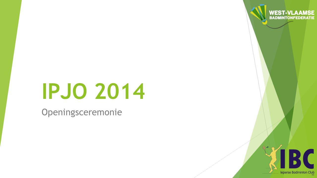 IPJO 2014 Openingsceremonie