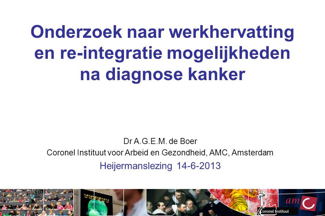 Coronel Instituut voor Arbeid en Gezondheid, AMC, Amsterdam