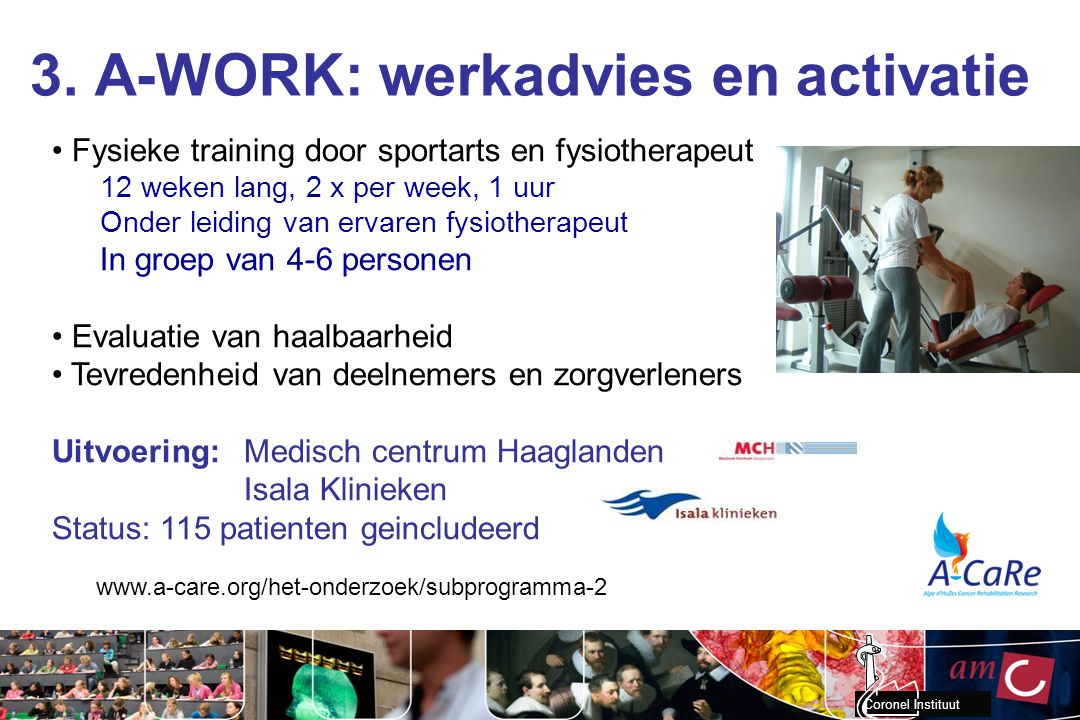 3. A-WORK: werkadvies en activatie