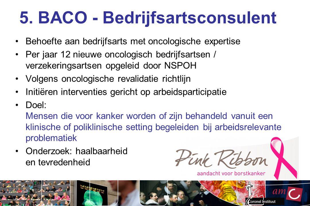5. BACO - Bedrijfsartsconsulent