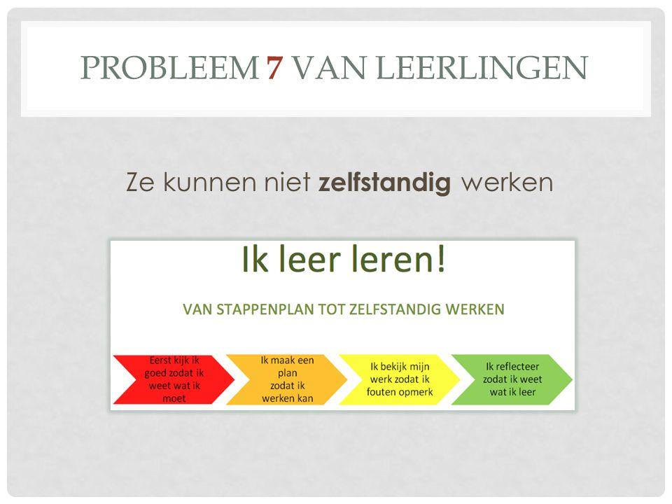 Probleem 7 van leerlingen