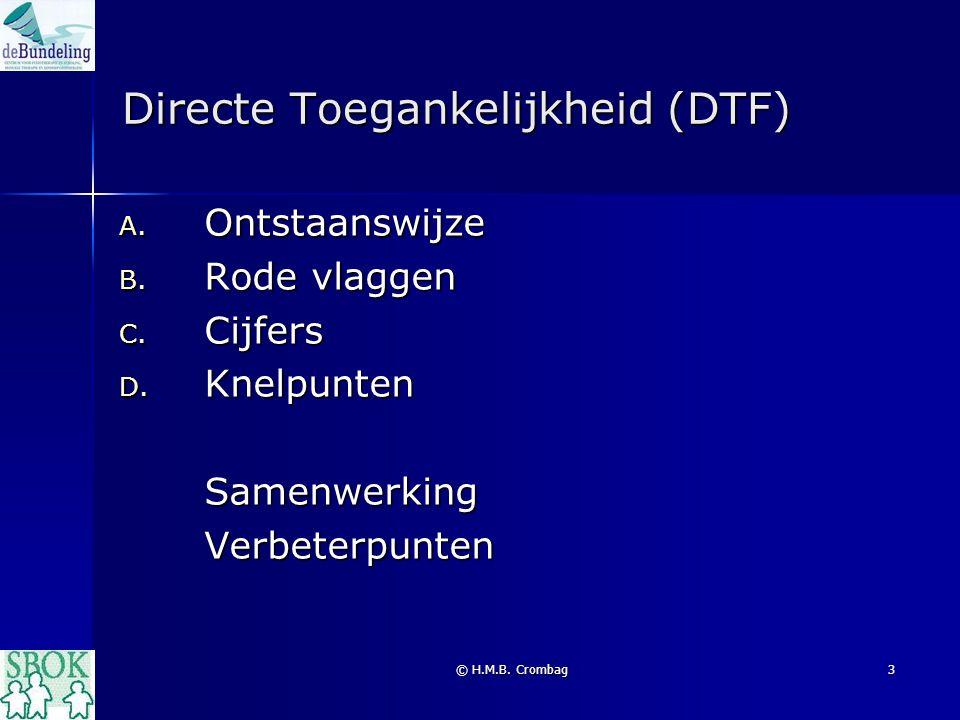 Directe Toegankelijkheid (DTF)