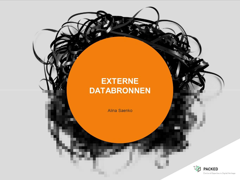 externe databronnen Alina Saenko