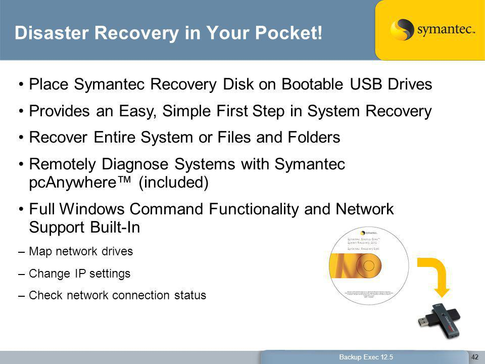 Disaster Recovery in Your Pocket!