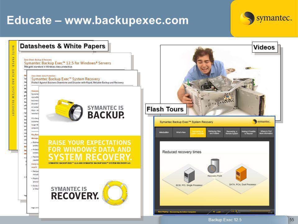 Educate – www.backupexec.com