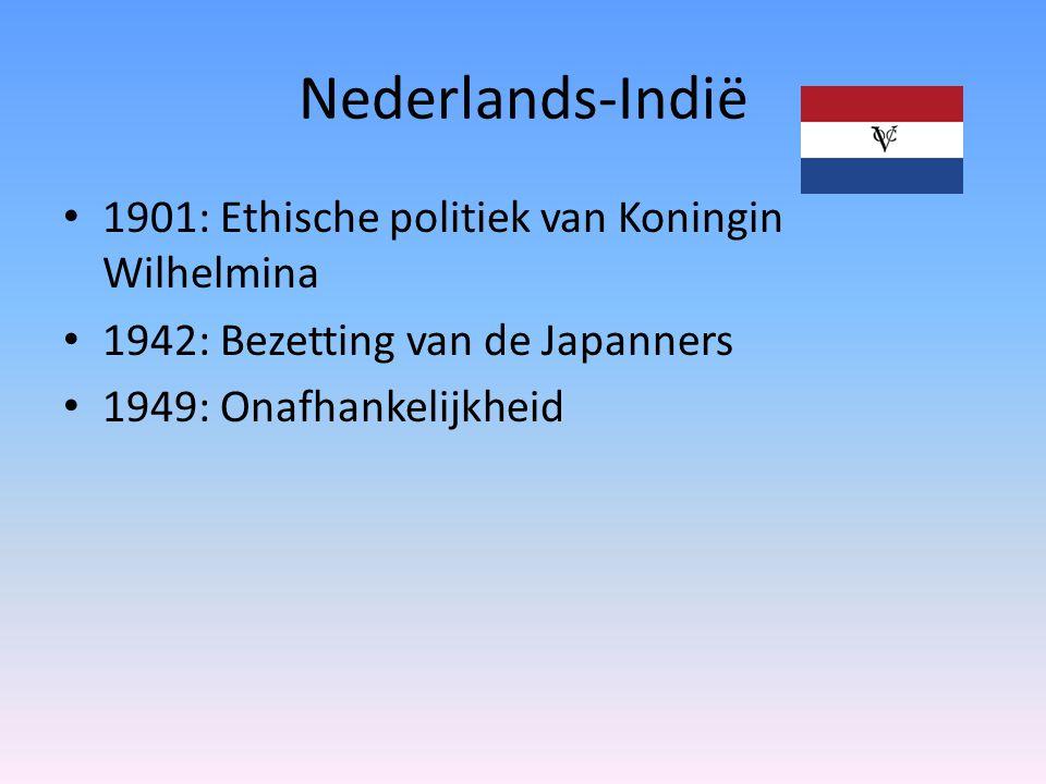 Nederlands-Indië 1901: Ethische politiek van Koningin Wilhelmina