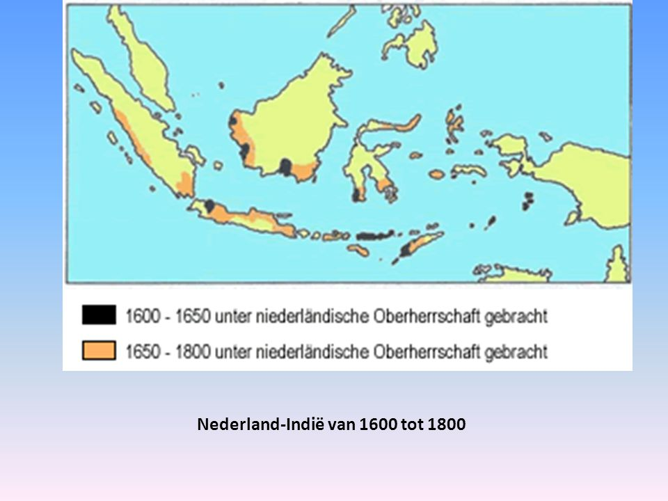 Nederland-Indië van 1600 tot 1800