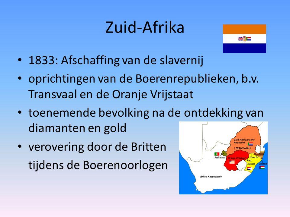 Zuid-Afrika 1833: Afschaffing van de slavernij