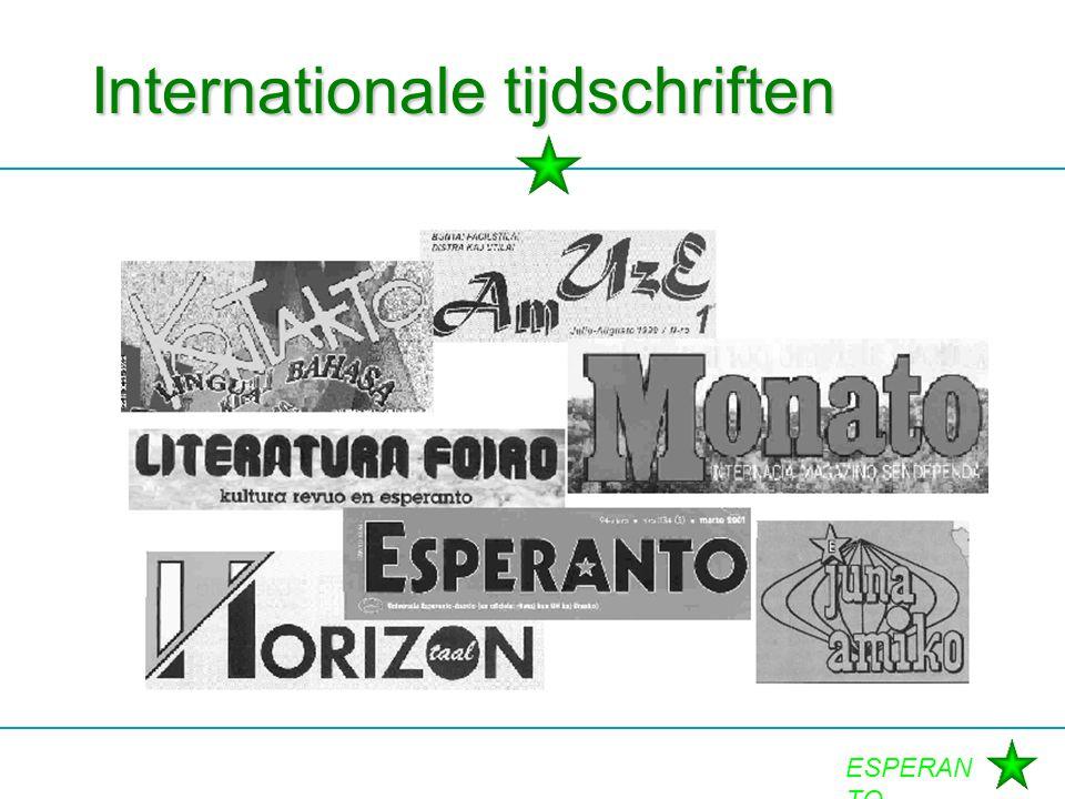 Internationale tijdschriften