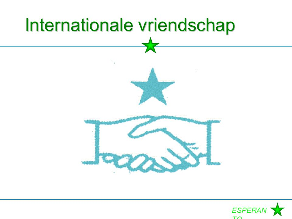 Internationale vriendschap