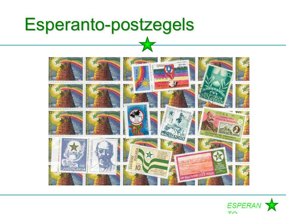 Esperanto-postzegels
