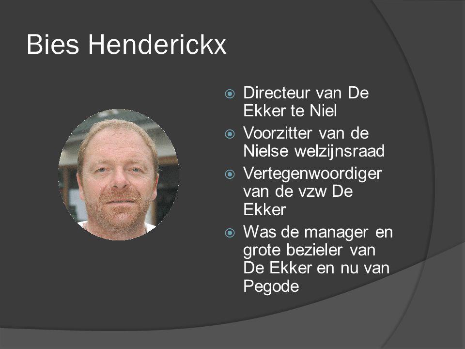 Bies Henderickx Directeur van De Ekker te Niel