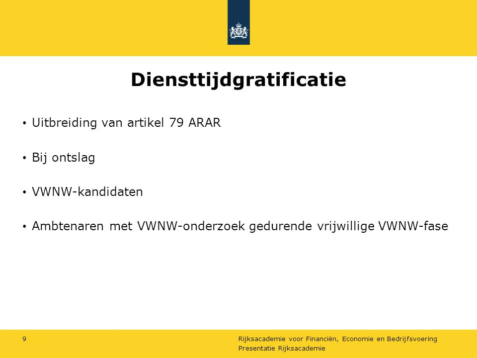 Diensttijdgratificatie