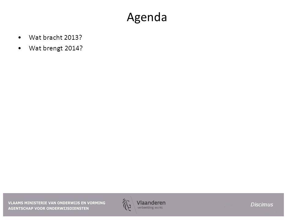 Agenda Wat bracht 2013 Wat brengt 2014