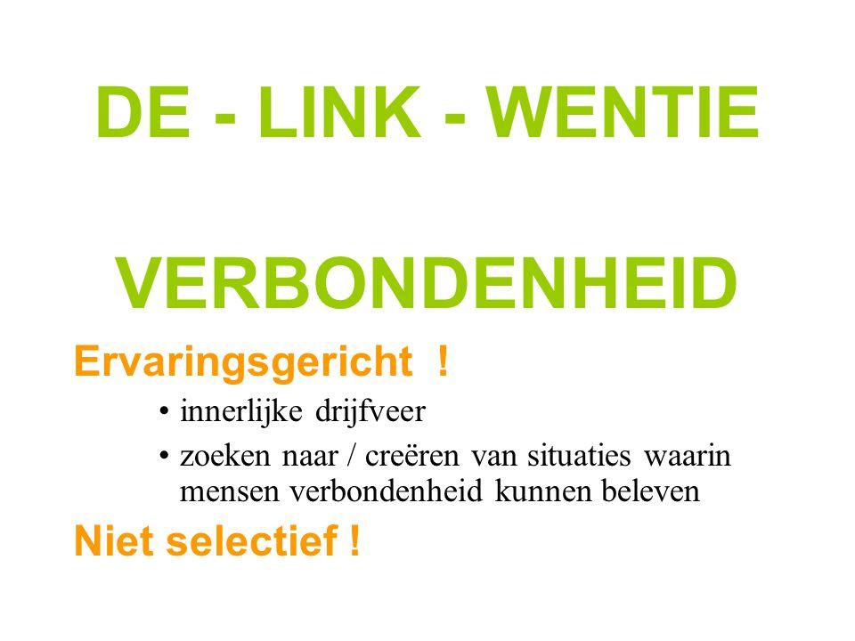 DE - LINK - WENTIE VERBONDENHEID