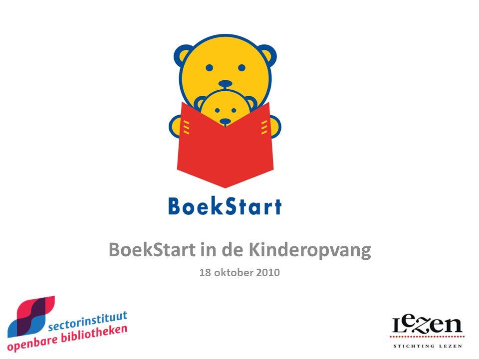 BoekStart in de Kinderopvang 18 oktober 2010