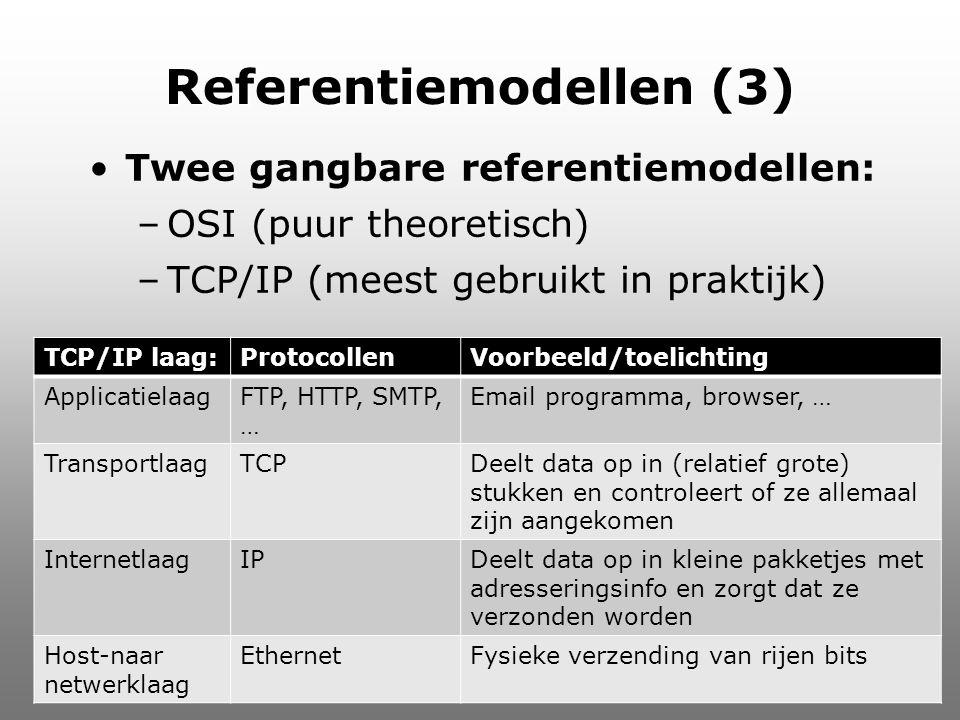 Referentiemodellen (3)