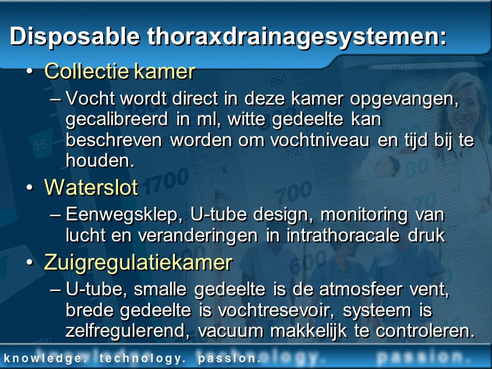 Disposable thoraxdrainagesystemen: