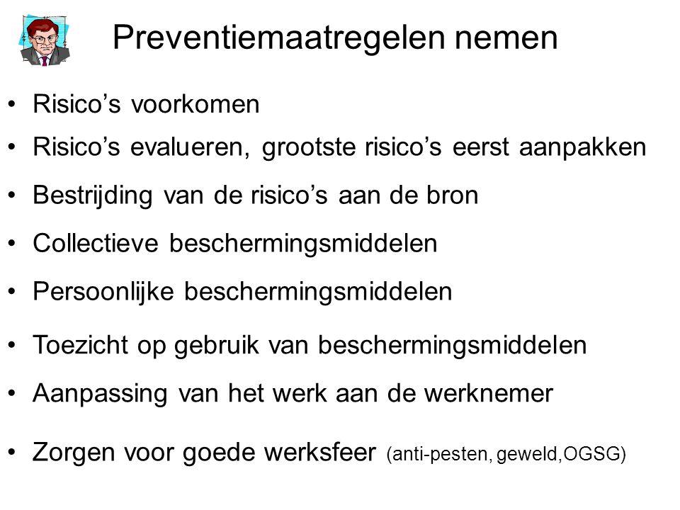 Preventiemaatregelen nemen