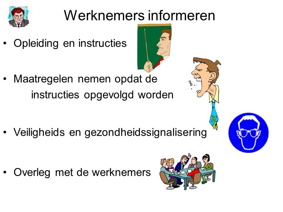 Werknemers informeren