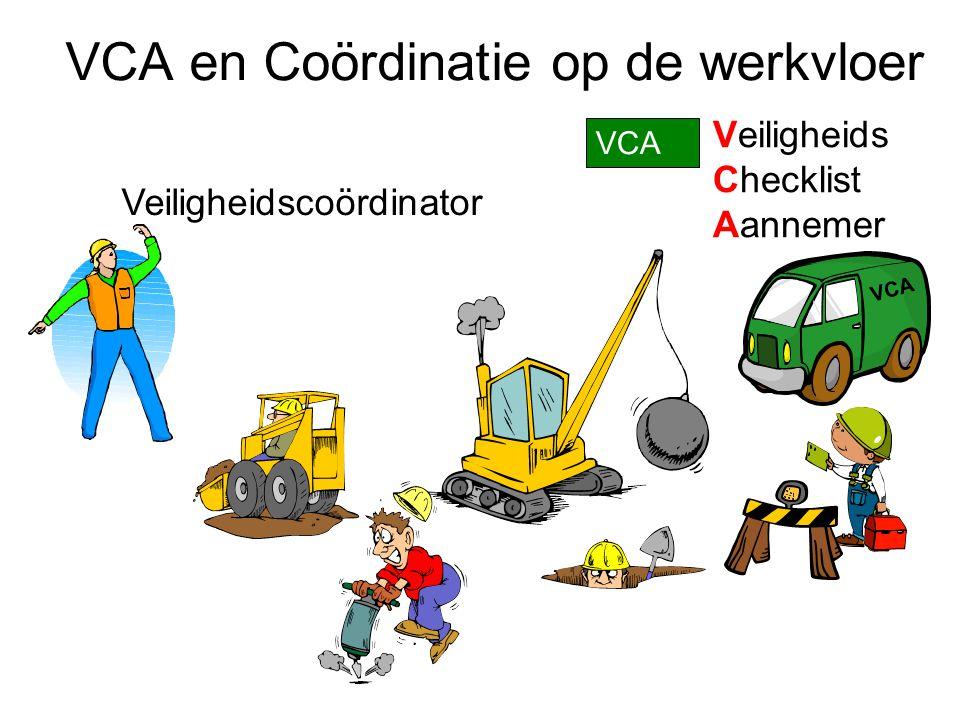 VCA en Coördinatie op de werkvloer