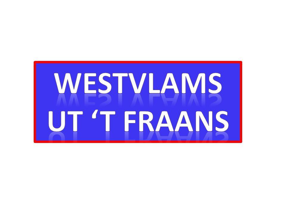 Westvlams Ut 't fraAns