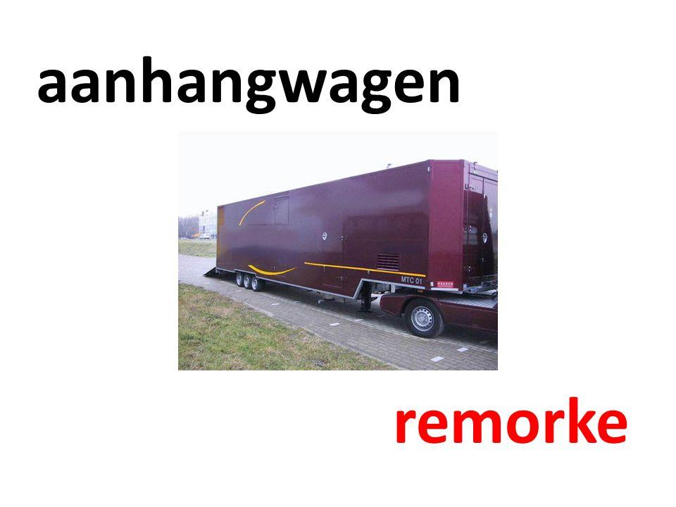aanhangwagen remorke