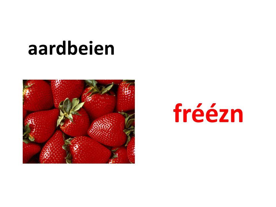 aardbeien fréézn