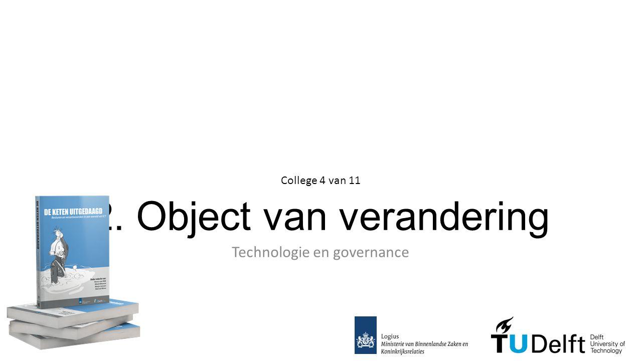 2. Object van verandering