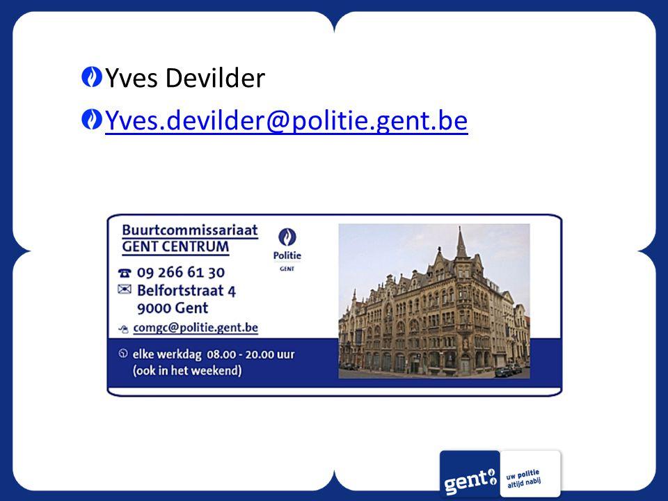 Yves Devilder Yves.devilder@politie.gent.be