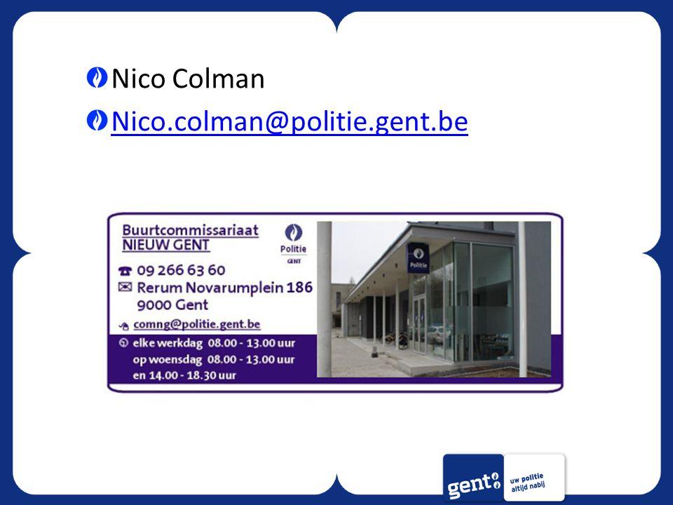 Nico Colman Nico.colman@politie.gent.be