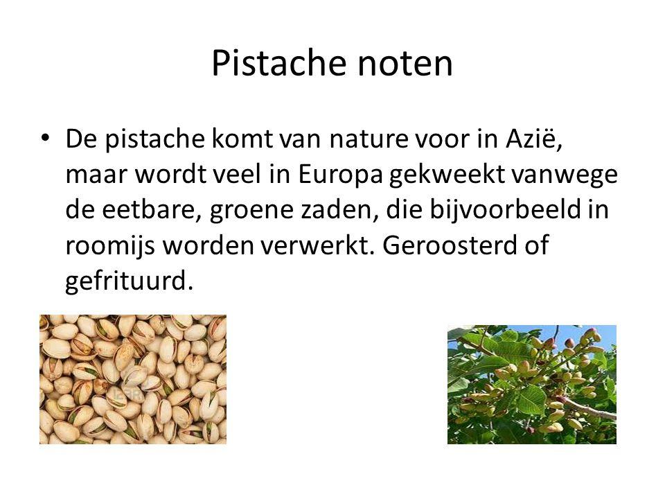 Pistache noten