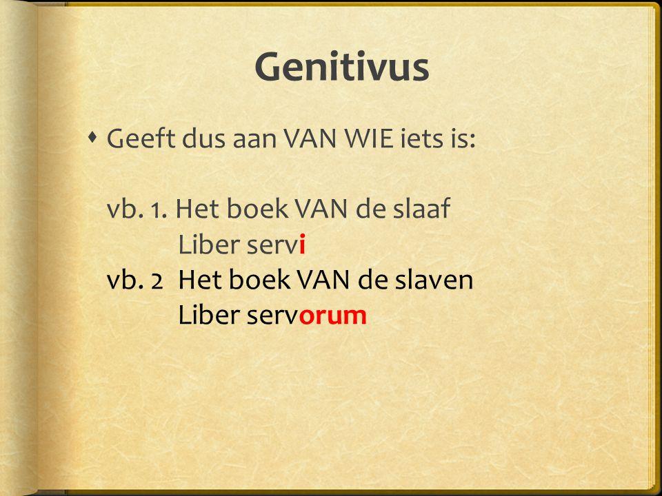 Genitivus