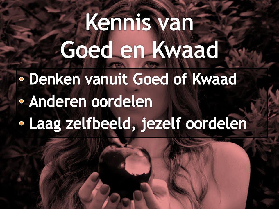Kennis van Goed en Kwaad