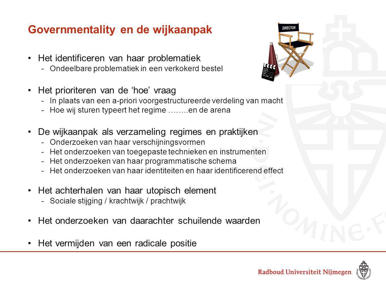 Governmentality en de wijkaanpak