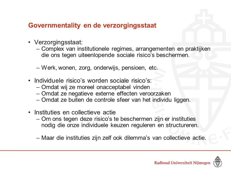 Governmentality en de verzorgingsstaat