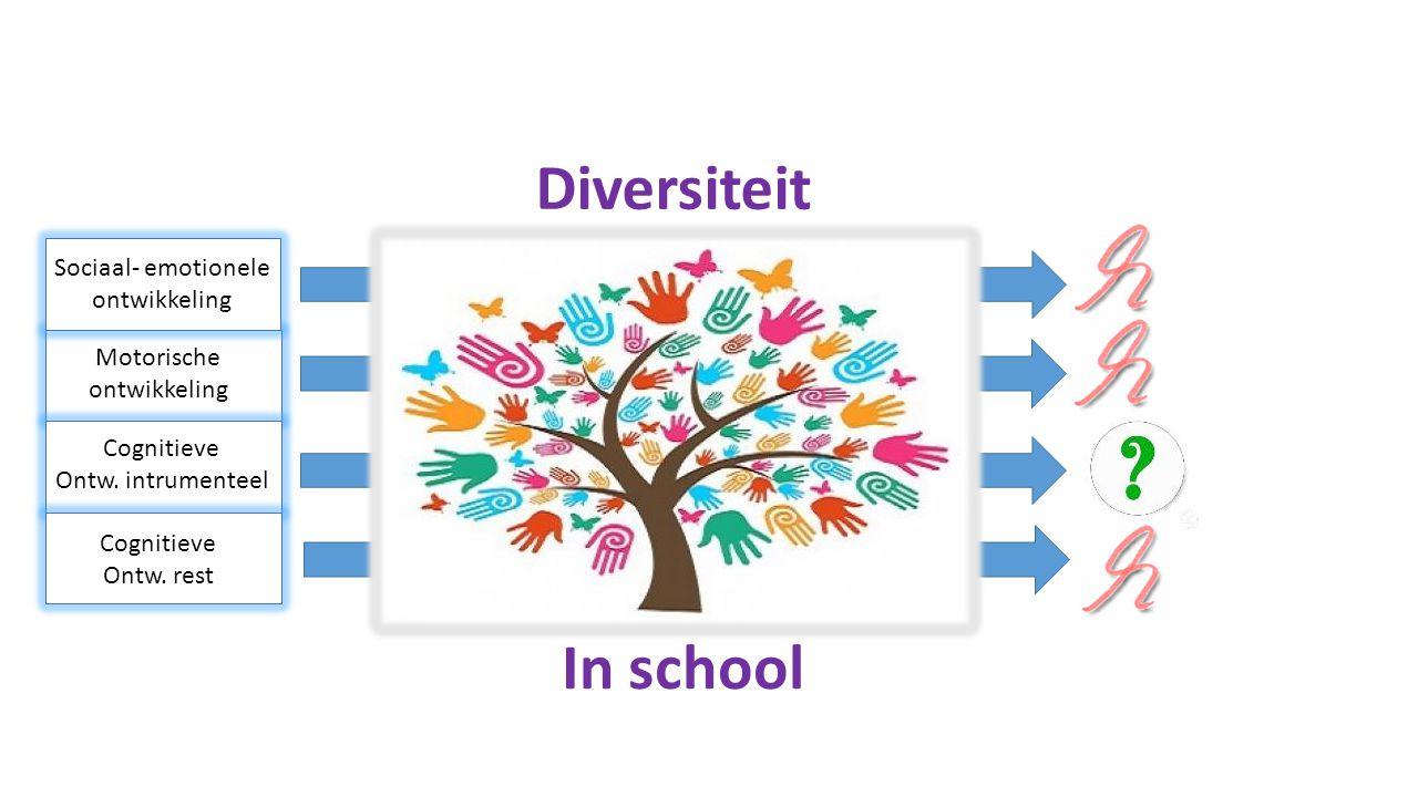 Diversiteit In school Sociaal- emotionele ontwikkeling Motorische